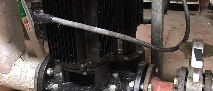 Pump motor fail