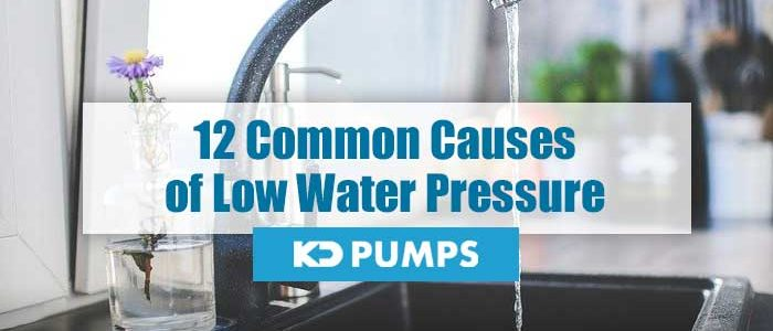 12 Causes of Low Water Pressure