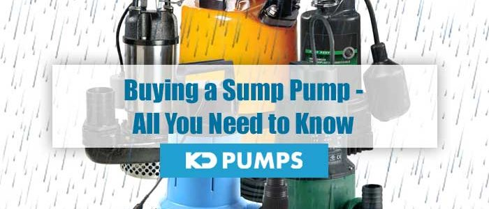 Buying a Sump Pump