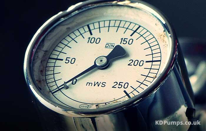 Water Pressure Meter