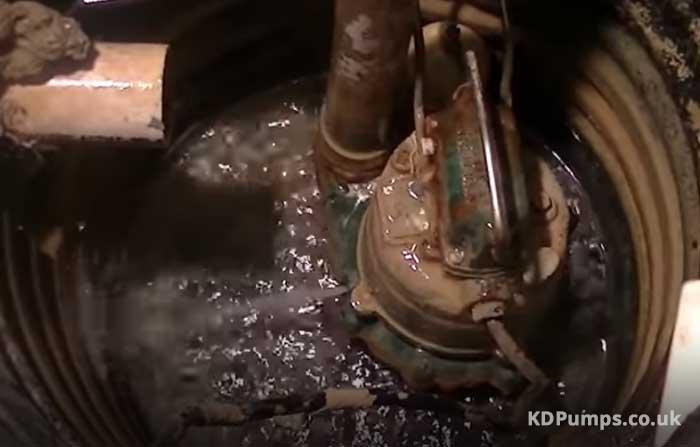 Clogged Sump Pump
