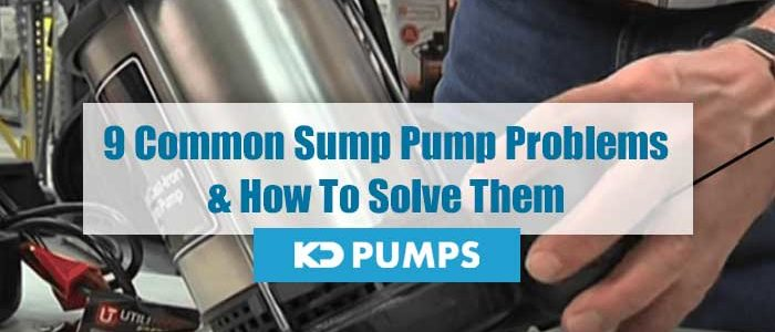 Common Sump Pump Problems