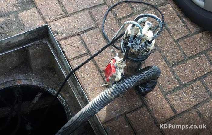 Failed Sump Pump