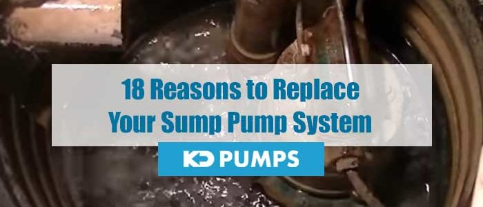 Reasons to Replace Sump Pump
