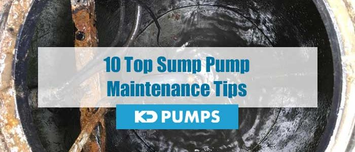 Sump Pump Maintenance Tips