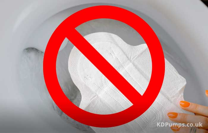 No Flushing Sanitary Towels